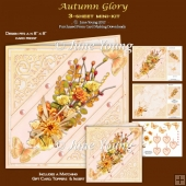Autumn Glory - 3-Sheet Mini-Kit