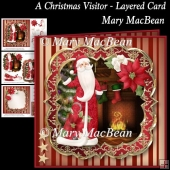 A Christmas Visitor Layered Card