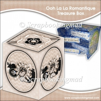 Ooh La La Romantique Secret Treasure Box
