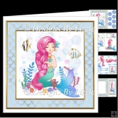 Funky Mermaid 2 Mini Kit