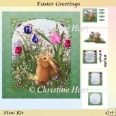 Easter Greetings Mini Kit