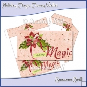 Holiday Magic Money Wallet