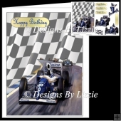Racing Car_Blue