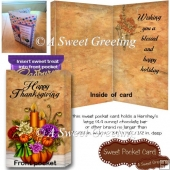 Blessed Thanksgiving Sweet Pocket Card