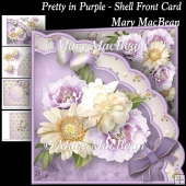 Pretty in Purple - Shell Front Card
