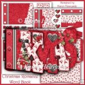 Christmas Romance Word Book 1