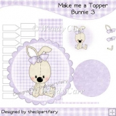 Make me a Topper - Bunnie 3(Retiring in August)
