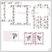 Dog Rose Notelet Set
