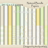 Natural Bundle - PAPERS(Retiring in July)
