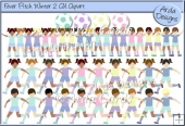 Fever Pitch Winter 2 CU Clipart