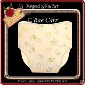119 Diaper Shaped Card *HAND & MACHINE Cut Files*