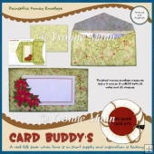 Poinsettia Money Envelope Kit