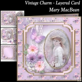 Vintage Charm - Layered Card