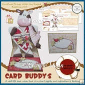 Christmas Brings Udder Joy Shaped Easel Card Kit