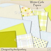 Winter Girls Papers 2(Retiring in July)
