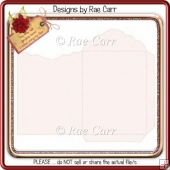 026 Envelope 1 Piece - Scalloped *HAND & MACHINE Cut Files*