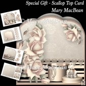 Special Gift - Scallop Top Card