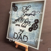 Dad / Father The Greatest Gift 2 Files multi format