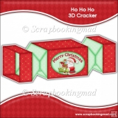 Ho Ho Ho 3D Cracker