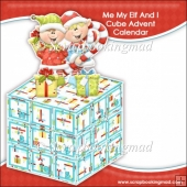 Me My Elf And I Cube Advent Calendar