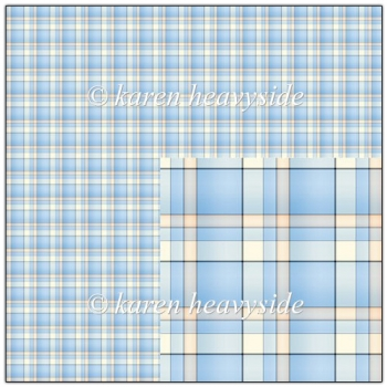 Blue Plaid 1