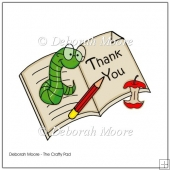 Book Worm Thank You Teacher
