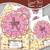 Sweet Floral flower Card