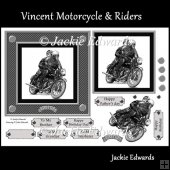 Vincent Motorcycle & Riders
