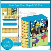 Super Gals Book Shaped Gift Box