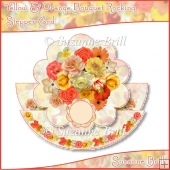 Yellow & Orange Bouquet Rocking Card