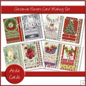 Christmas Flowers Card Making Set