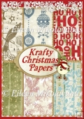 Krafty Christmas Country Holiday Background Papers Set