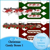 Christmas Candy Boxes 1