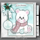 Polar Bear 1st Christmas Mini Kit