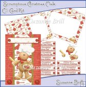 Scrumptious Christmas Male C5 Card Kit
