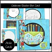 Celebrate Shadow Box Card