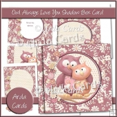 Owl Always Love You Shadow Box Card