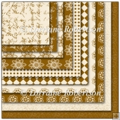 Coffee & Cream Backing Papers