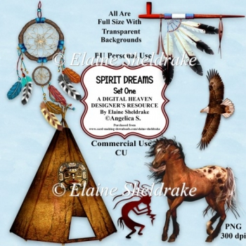 Spirit Dreams - Native American - CU/PU Designer Resource