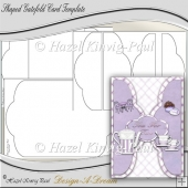 Shaped Gatefold Card Template
