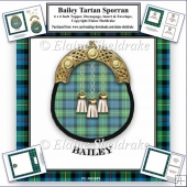 Bailey Tartan Sporran Card Kit