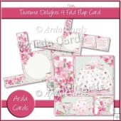 Teatime Delights 4 Fold Flap Card