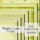 Meadows Lane Delight Digital Paper Pack