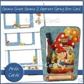 Gnome Sweet Gnome 3 Aperture Spring Box Card