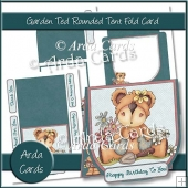 Garden Ted Rounded Tent Fold Card
