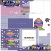 Bright fun Easter Card - Foldback