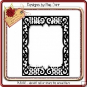 030 Fancy Cutwork Frame *Multiple MACHINE Formats*