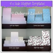 Stepper Card Templates x 4 - Personal Use