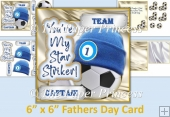 Male Card Fathers Day Or Birthday