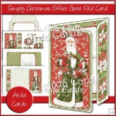 Simply Christmas Offset Gate Fold Card
